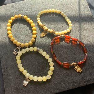 Jewelry - Chavez for charity stone bead bracelets